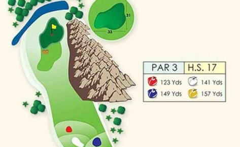 Hole #6 – The Waterfall